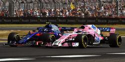 Perez vs. Gasly - GP England 2018