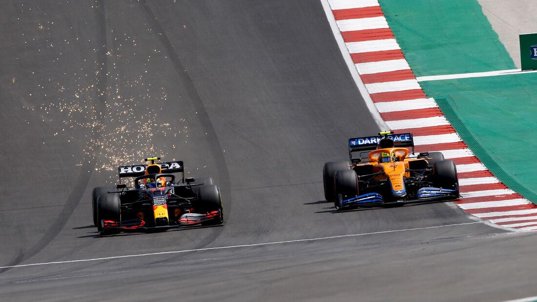 Perez vs. Norris - Formel 1 - GP Portugal 2021