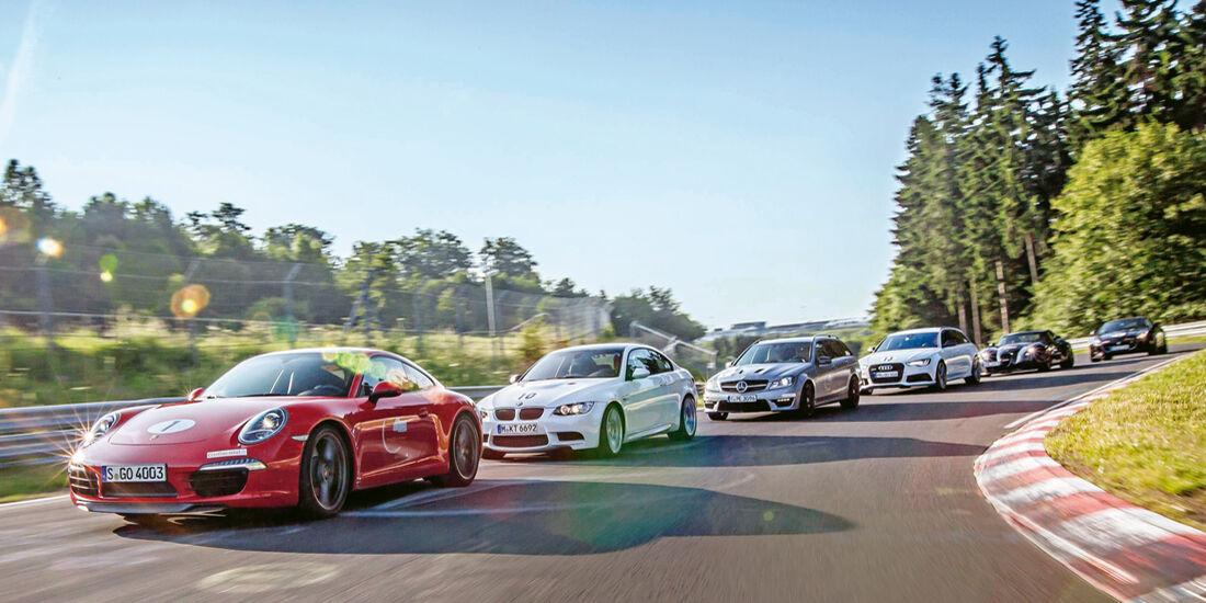 Perfektionstraining 2013, Sportautos