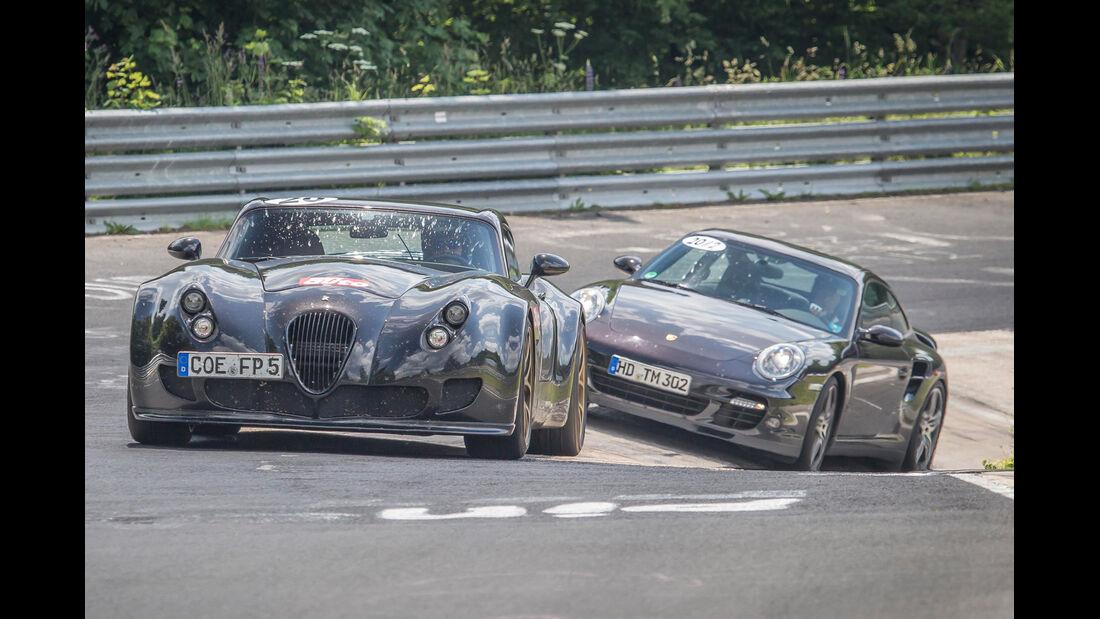 Perfektionstraining 2013, Wiesmann Roadster, Porsche