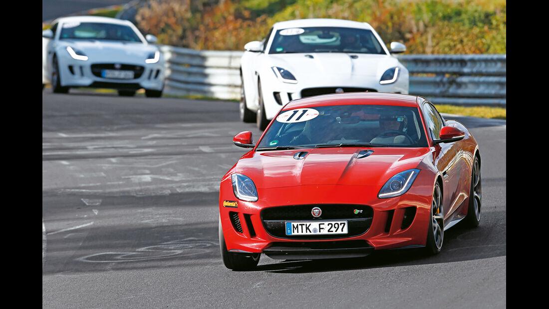 Perfektionstraining 2014, Jaguar F-Type R Coupé