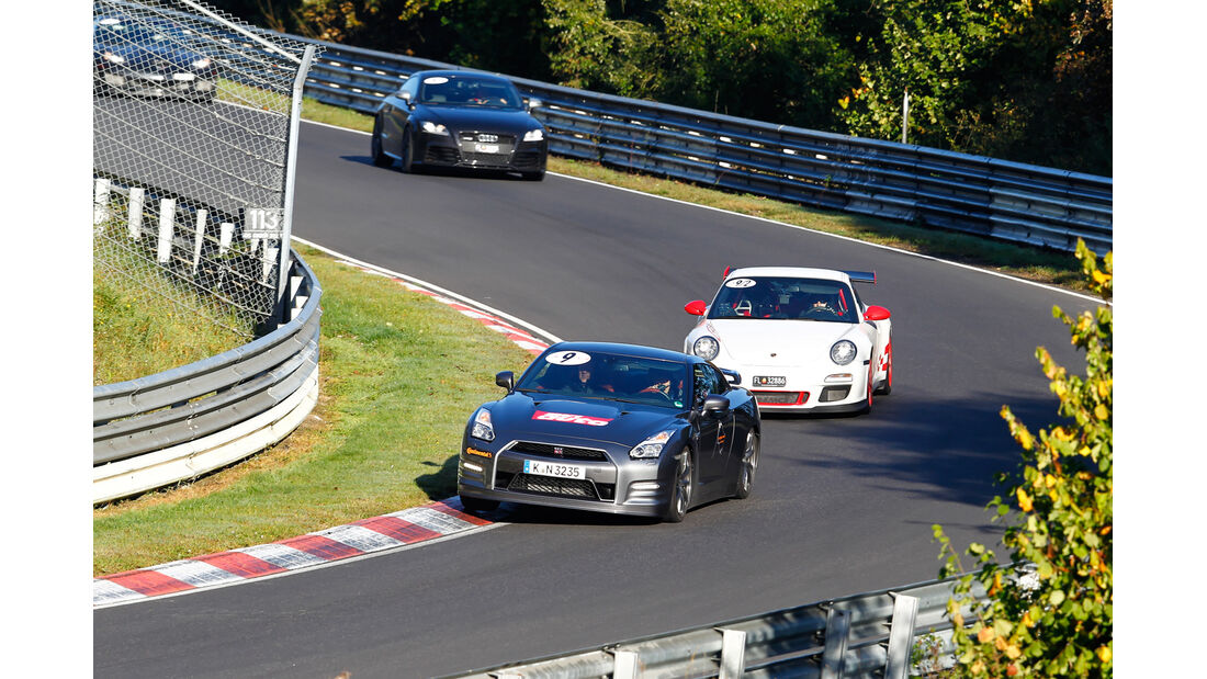 Perfektionstraining 2014, Nissan GT-R