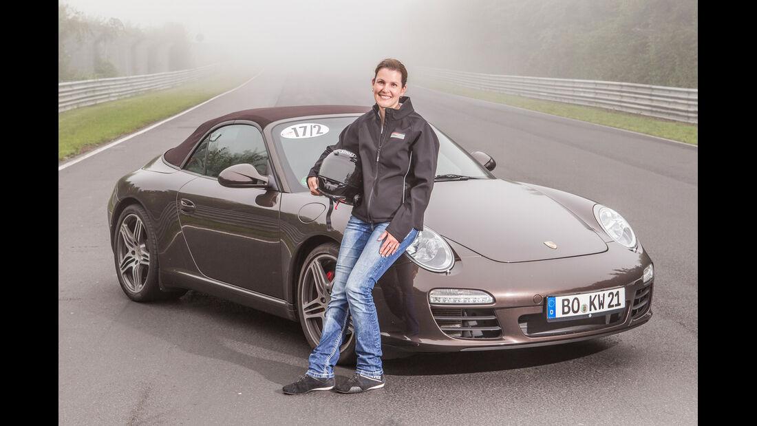Perfektionstraining 2014, Porsche 911, Silke Schröder