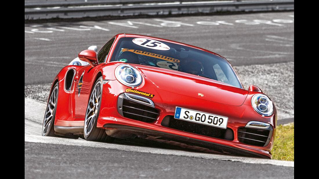 Perfektionstraining 2014, Porsche 911 Turbo S