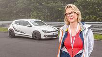 Perfektionstraining 2014, Renate Waldner, VW Scirocco
