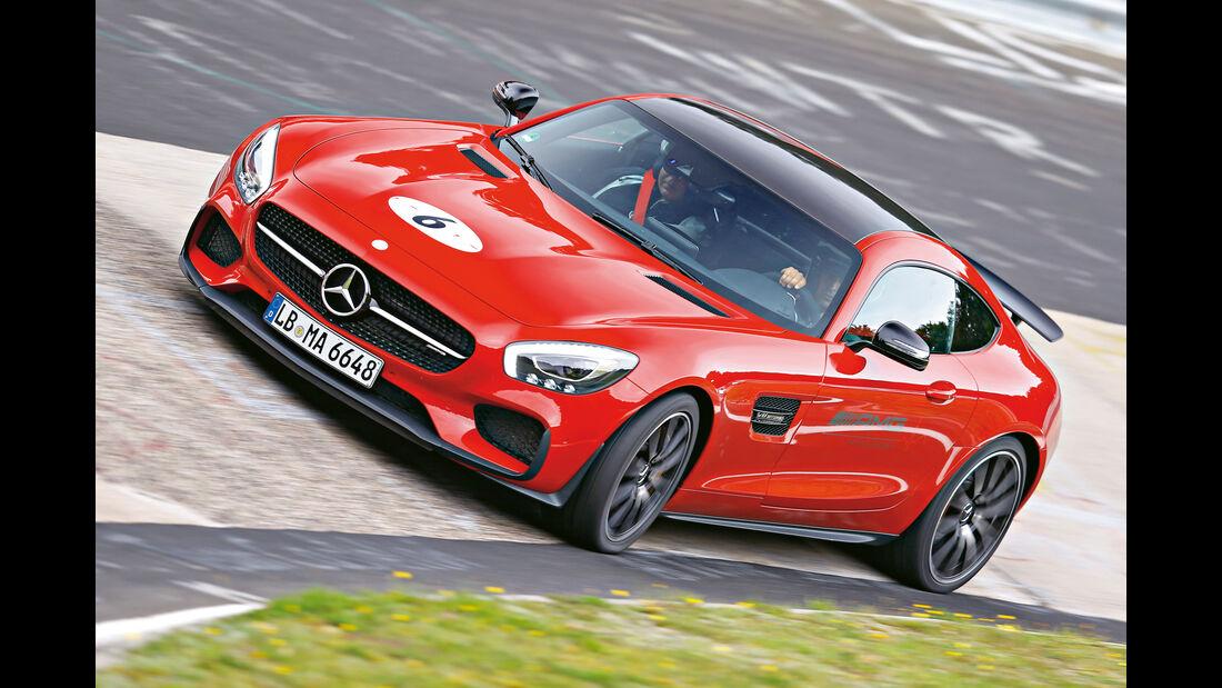 Perfektionstraining 2015, Mercedes-AMG GT S