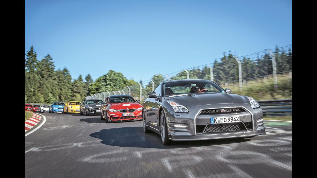 Perfektionstraining 2015, Nissan GT-R
