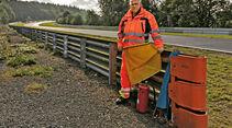 Perfektionstraining 2015, Streckenposten Günther Ley