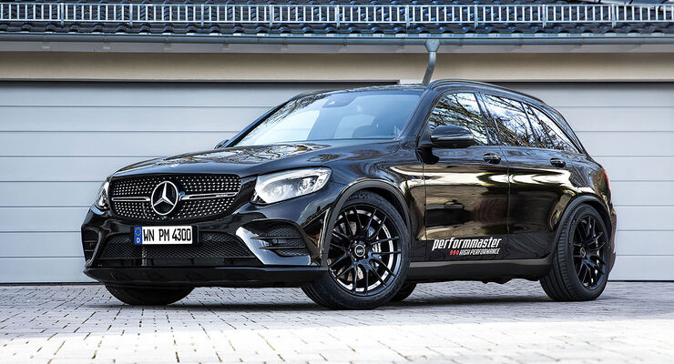 performmaster mercedes glc 43 amg tuning auto motor und. Black Bedroom Furniture Sets. Home Design Ideas