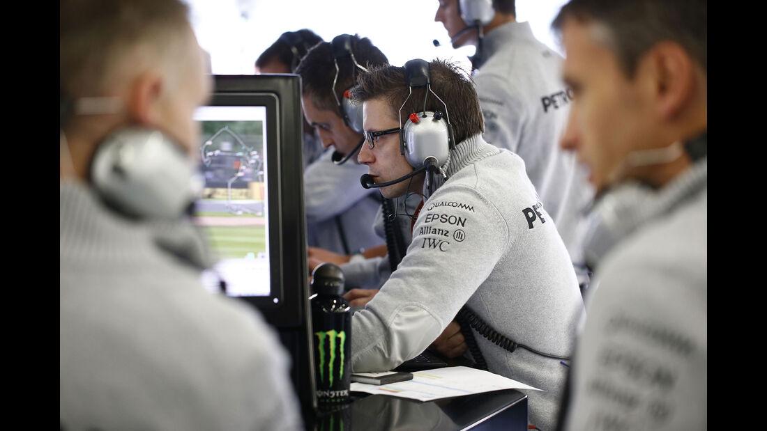 Peter Bonnington - Mercedes - GP Abu Dhabi 2016 - Formel 1