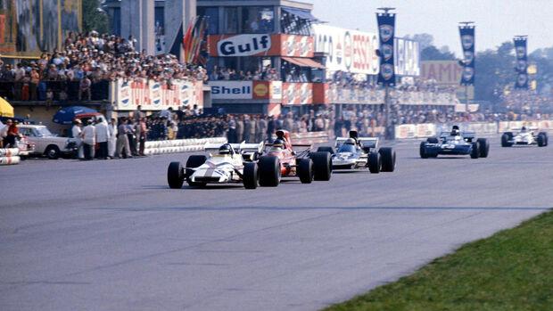 Peter Gethin - BRM P160 - GP Italien 1971 - Monza