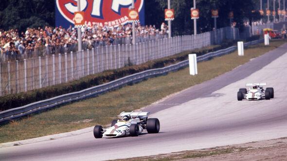 Peter Gethin - BRM P160 V12 - GP Italien 1971 - Monza