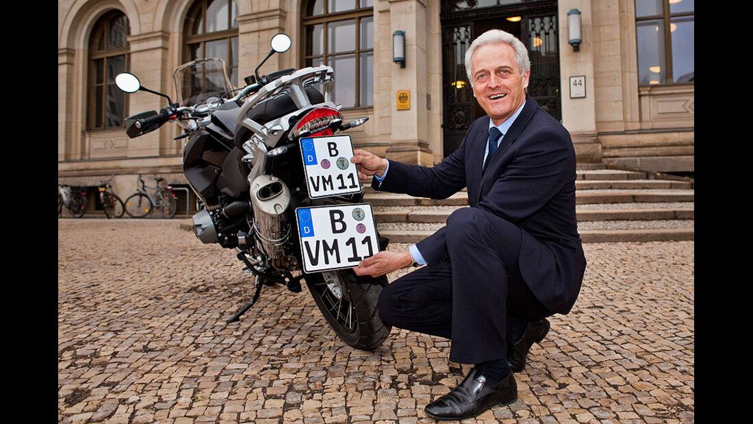 Peter Ramsauer, Kennzeichen, Motorrad