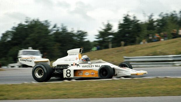 Peter Revson - McLaren M23 - GP Kanada 1973 - Mosport Park