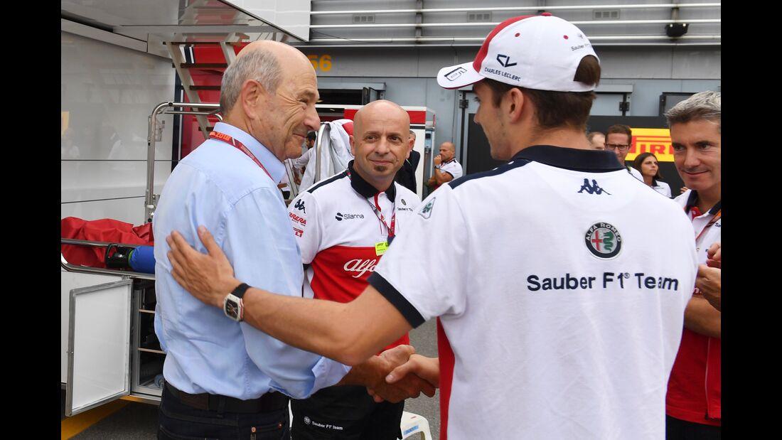 Peter Sauber - Formel 1 - GP Italien - 02. September 2018