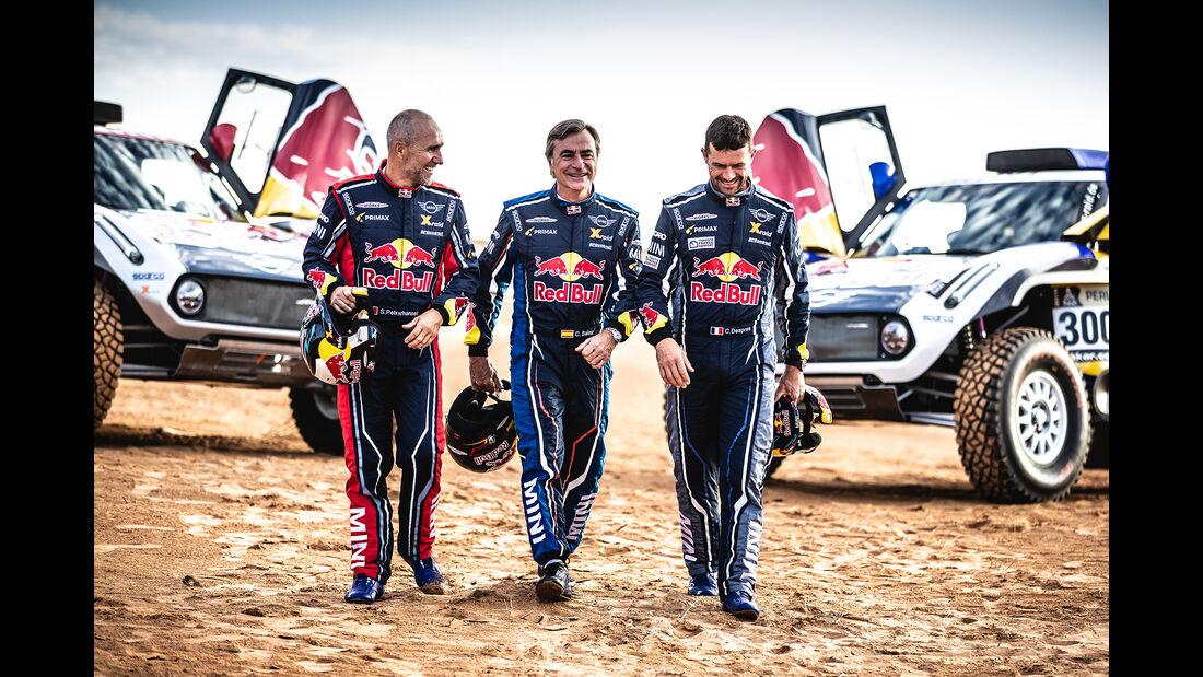 Peterhansel, Sainz & Despres - X-raid MINI JCW - Dakar Buggy 2019