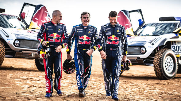 Peterhansel, Sainz & Despres - X-raid MINI JCW - Dakar Buggy 2019