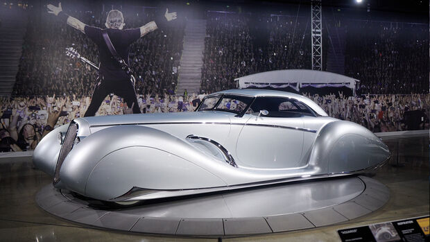 Petersen Museum James Hetfield Metallica Autos Ausstellung