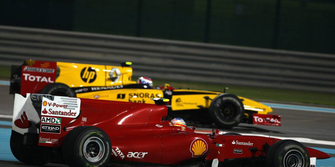 Petrov Alonso GP Abu Dhabi 2010