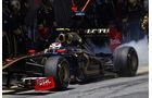 Petrov Burnout Pirelli 2011