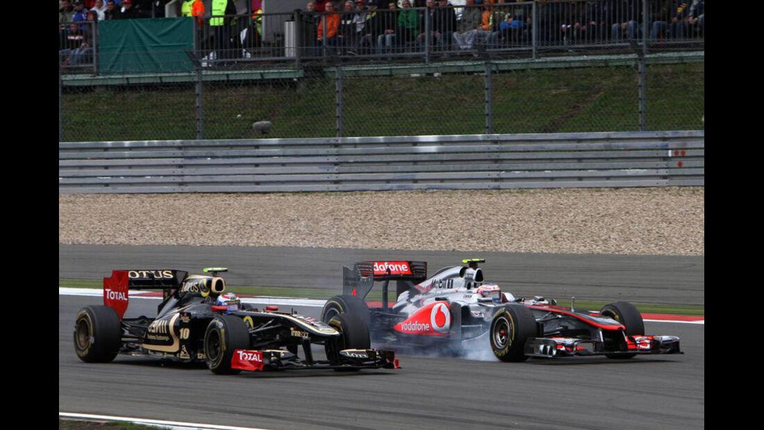 Petrov Button GP Deutschland 2011