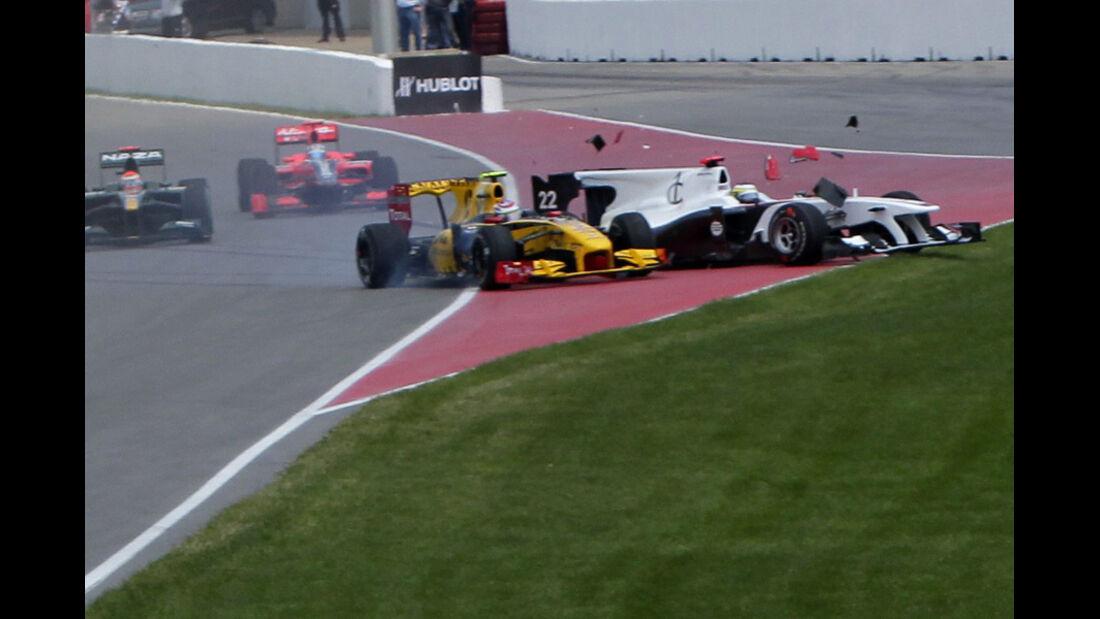 Petrov De la Rosa GP Kanada