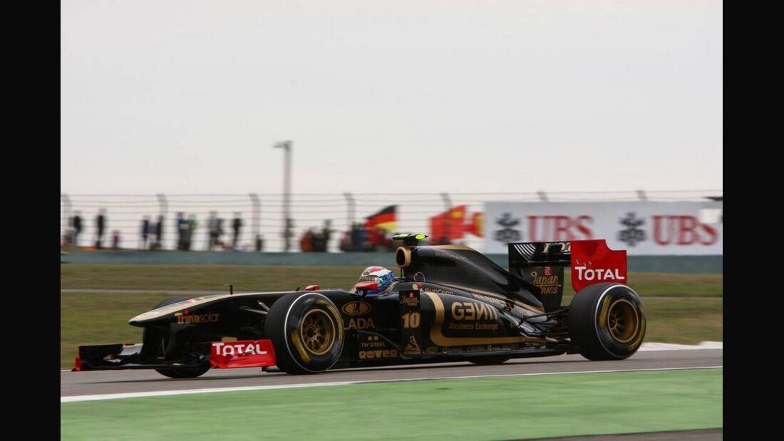 Petrov Formel 1 GP China 2011