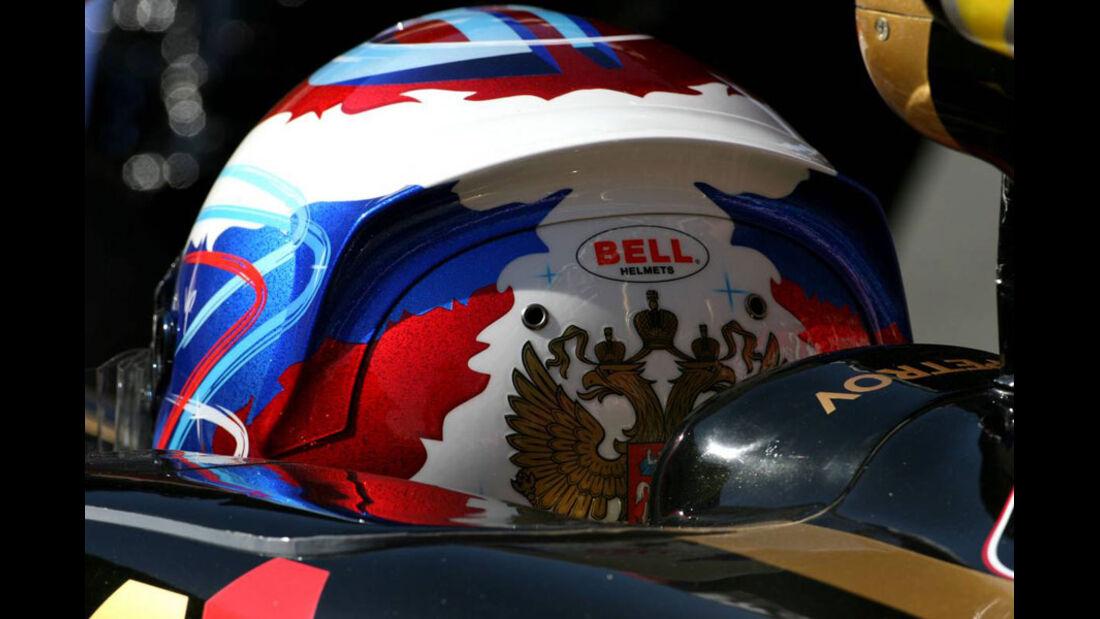 Petrov GP Spanien 2011