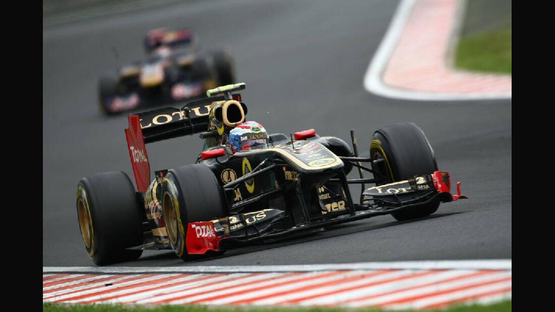 Petrov - Noten - GP Ungarn - Formel 1 - 31.7.2011