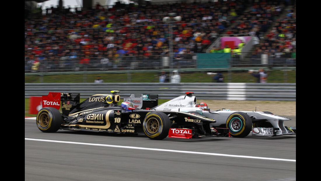 Petrov Schumacher GP Deutschland 2011