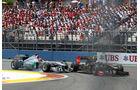 Petrov vs. Schumacher GP Europa Valencia 2011