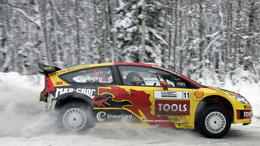 Petter Solberg Citroen C4 WRC