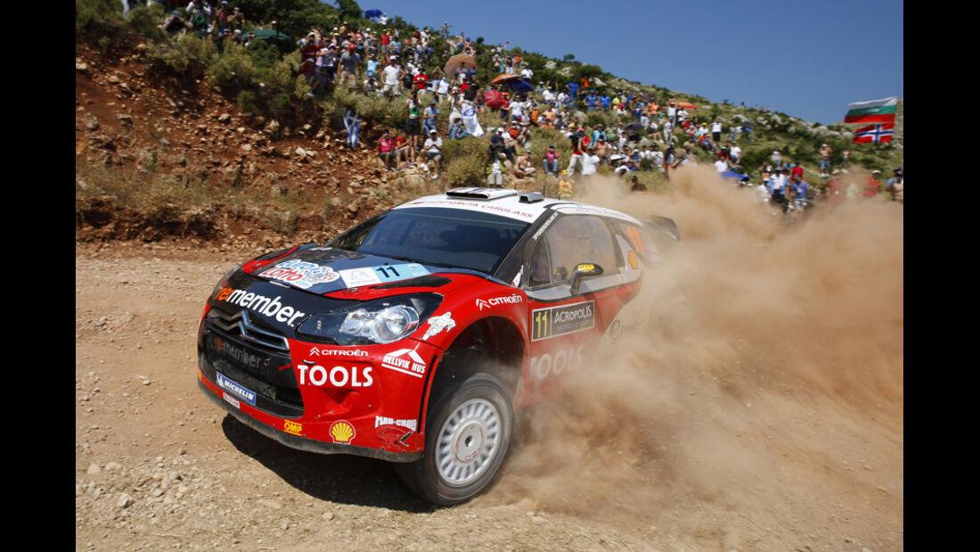 Petter Solberg Rallye Griechenland 2011