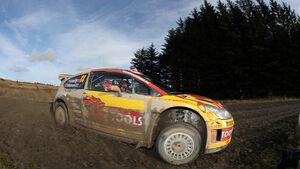 Petter Solberg, Rallye Großbritannien 2010, Citroen C4 WRC