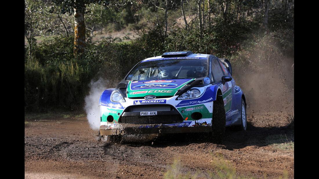 Petter Solberg Rallye Italien 2012 WRC