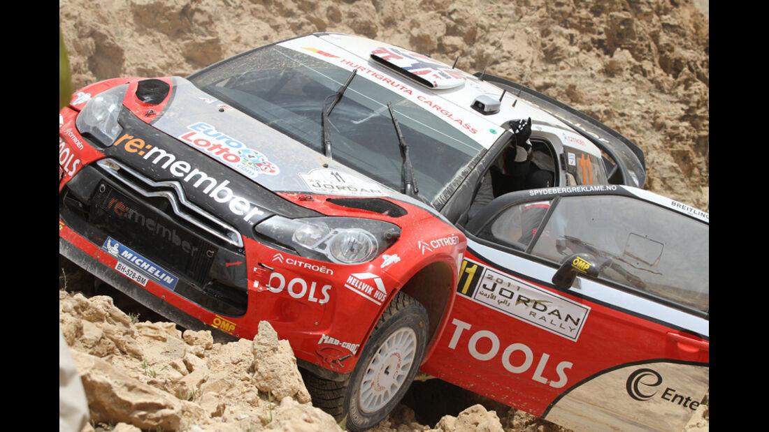 Petter Solberg - Rallye Jordanien 2011