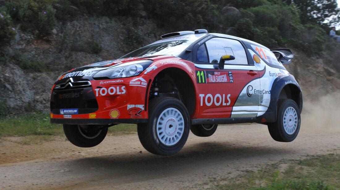 Petter Solberg WRC Rallye Sardinien 2011