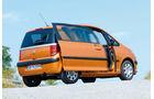 Peugeot 1007, Heckansicht