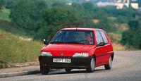 Peugeot 106, Frontansicht