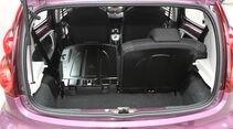Peugeot 107 1.0 2-tronic, Kofferraum