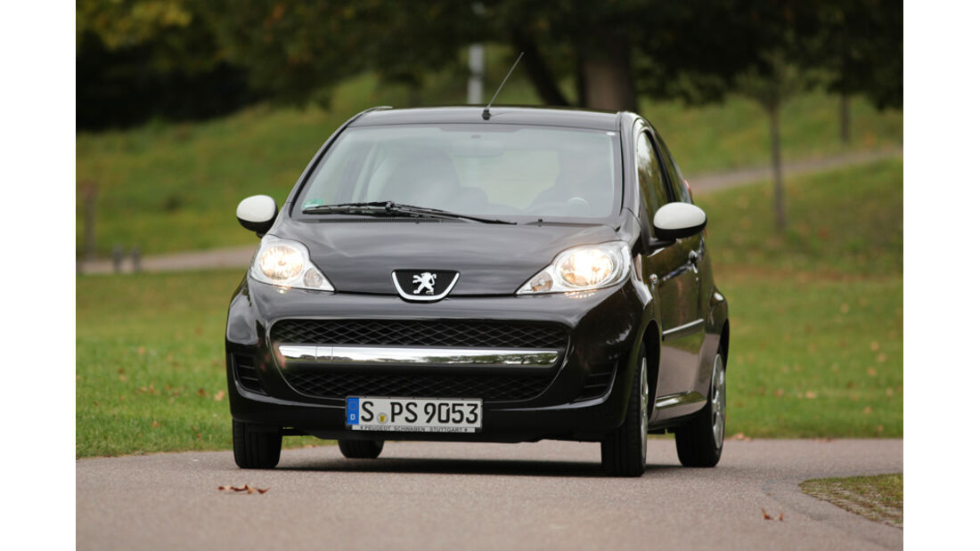 Peugeot 107 70 Urban Move, Front