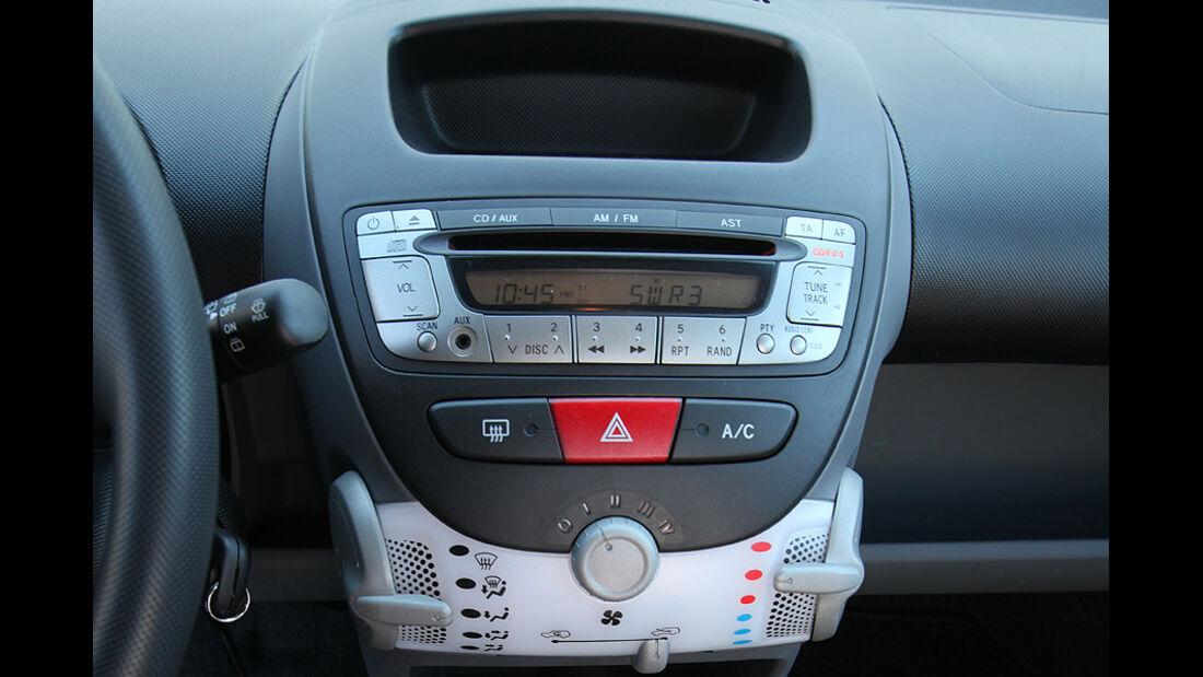Peugeot 107, Autoradio