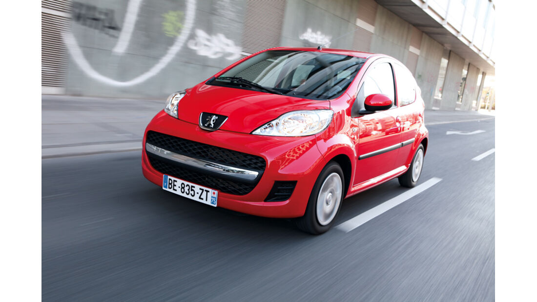 Peugeot 107, Front