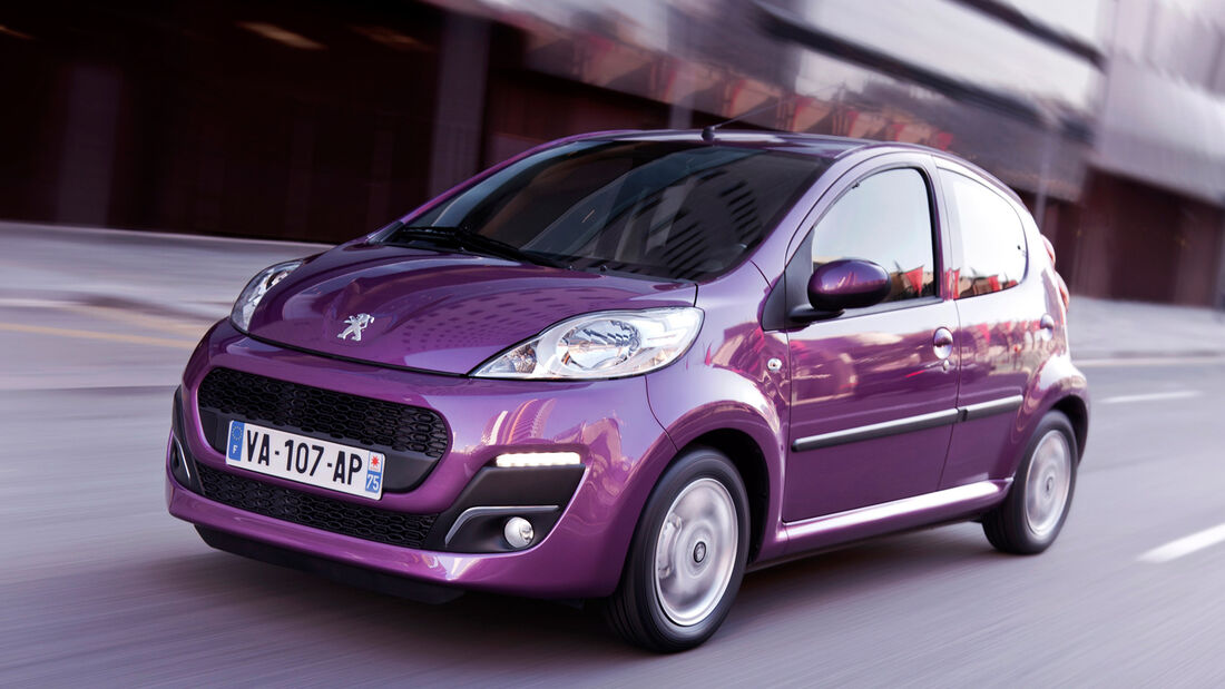 Peugeot 107, Frontansicht