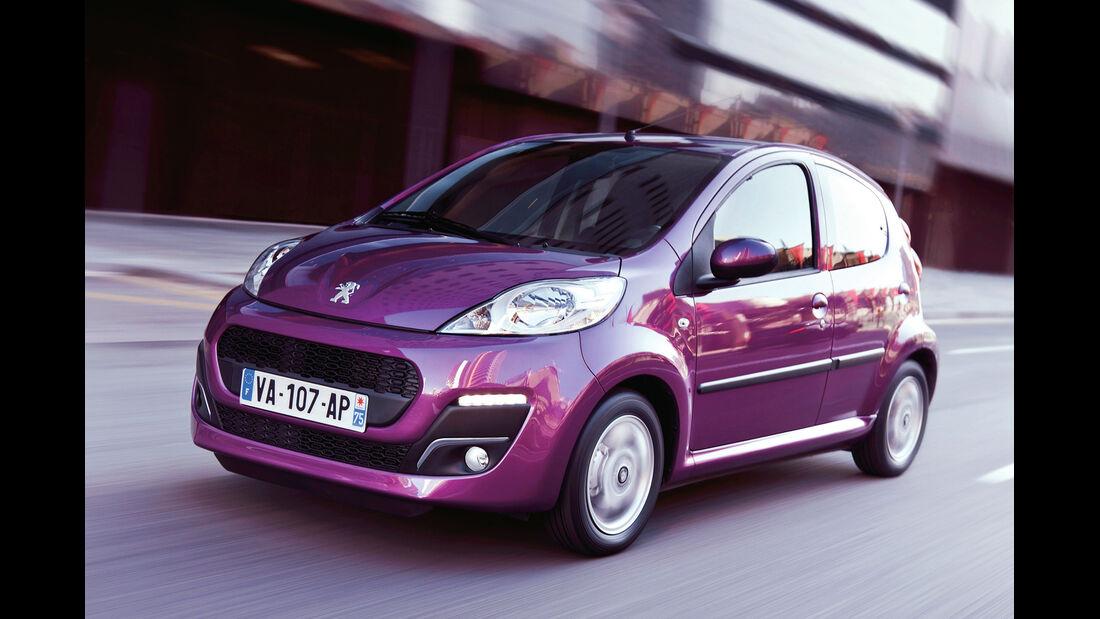 Peugeot 107, Frontansicht