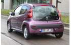 Peugeot 107, Heckansicht