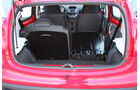 Peugeot 107, Kofferraum