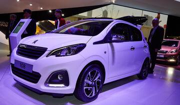 Peugeot 108, Genfer Autosalon, Messe, 2014, Genfer Autosalon, Messe, 2014