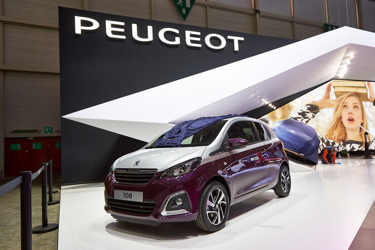 Peugeot 108 auf dem genfer autosalon facettenreicher city for Auto individualisieren