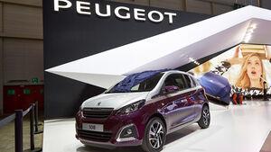 Peugeot 108, Genfer Autosalon, Messe 2014